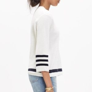Madewell Mapbook Waffle Knit Pullover Sweater XS